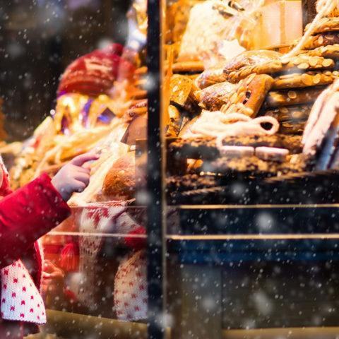 L'atmosfera di Natale e dell'inverno a Courmayeur